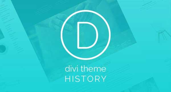 Divi Theme History