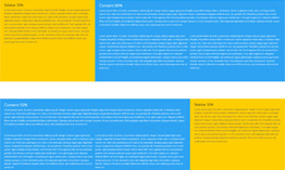 Full-width row with colored columns with Divi