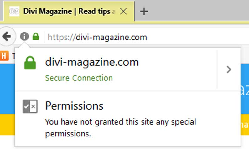 Divi Magazine Secured with SSL
